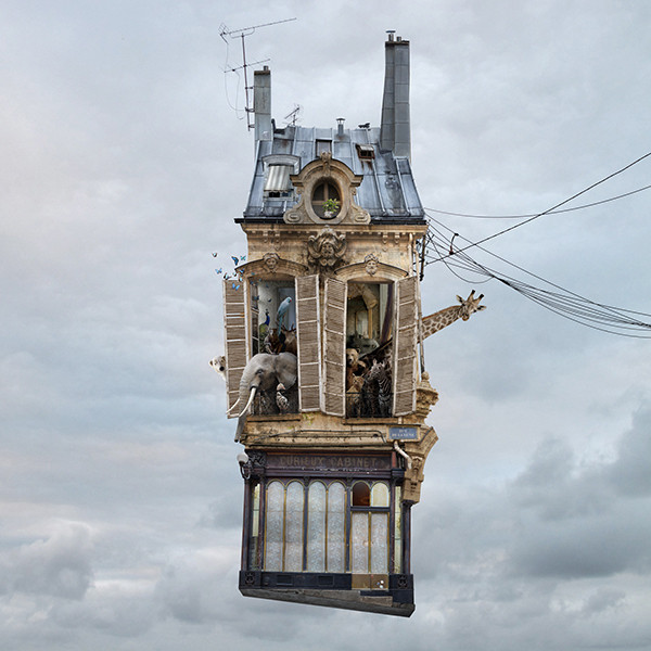 Laurent Chéhère Flying Houses