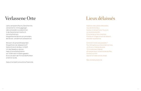 Sarah Hildebrand Verlassene Orte / Lieux Délaissés