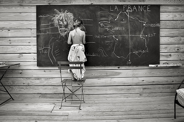 Alain Laboile COLLECTOR'S EDITION: Summer of the Fawn Motiv »Homeschooling« (2015)