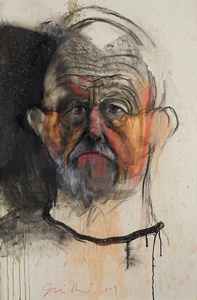 Albertina Jim Dine: I never look away Selbstporträts