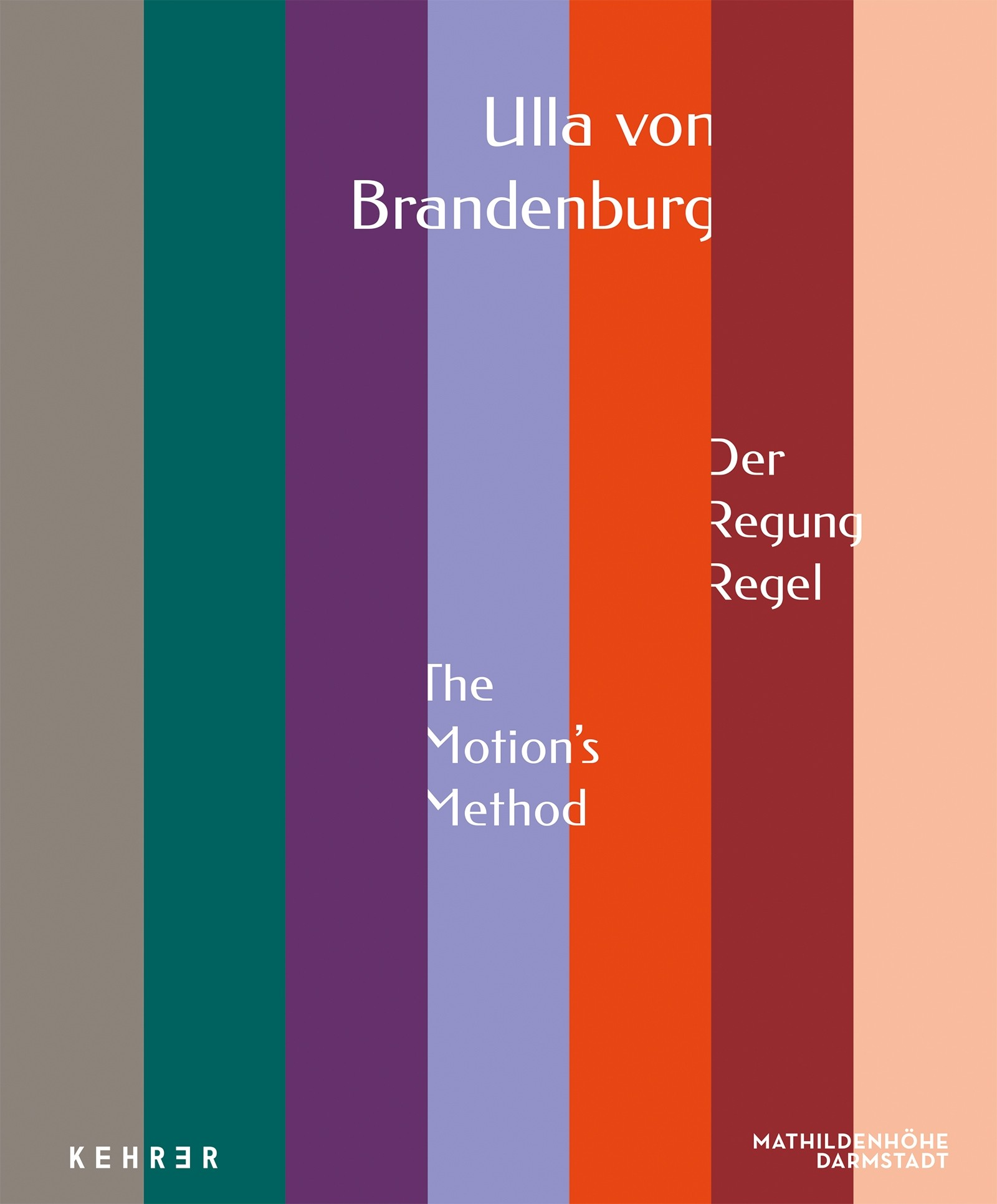 Ulla von Brandenburg Der Regung Regel / The Motion's Method
