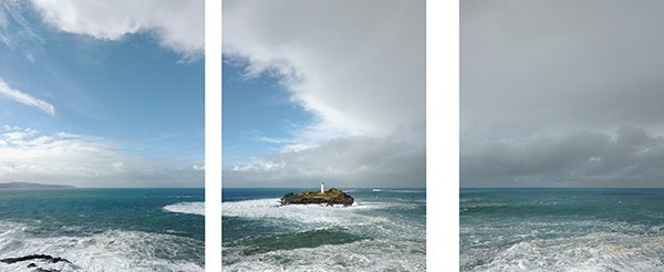 Michael Marten Godrevy. Views to a lighthouse