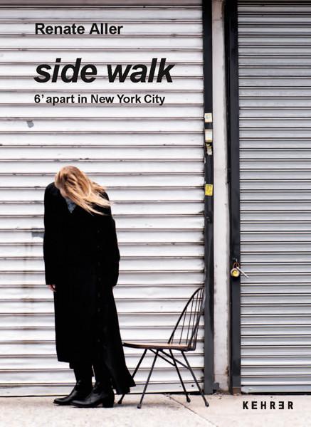 Renate Aller side walk 6' apart in New York City