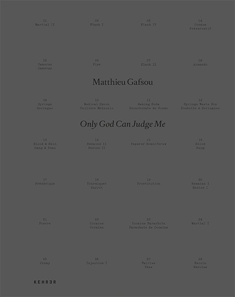 Matthieu Gafsou SIGNIERT: Only God Can Judge Me