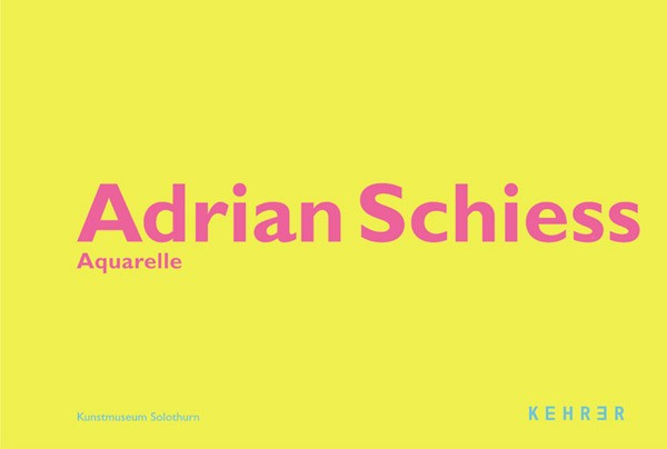 Adrian Schiess Aquarelle
