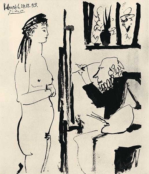 Pablo Picasso Die 50er-Jahre