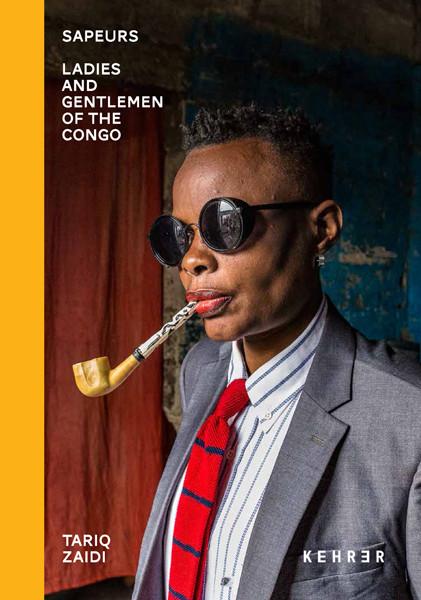 Tariq Zaidi COLLECTOR'S EDITION: Sapeurs. Ladies and Gentlemen of the Congo Motiv: »Elie with Umbrella« (2017)