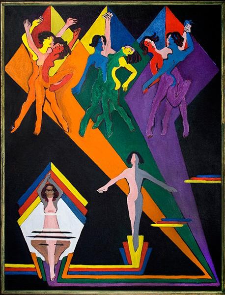 Kirchner Museum Davos Mischa Kuball. Licht auf Kirchner