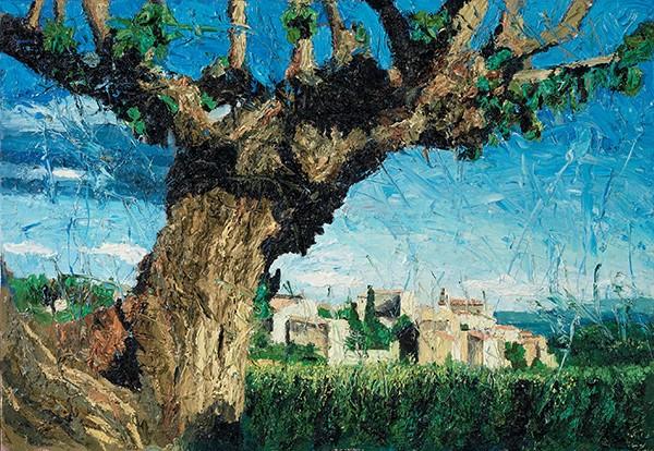 Oliver Jordan Malerei als Revolte. Hommage an das Licht, die Schönheit und Camus