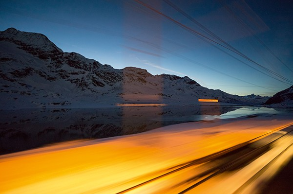 Rolf Sachs Camera In Motion From Chur to Tirano