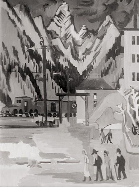 Louis de Marsalle Visite à Davos