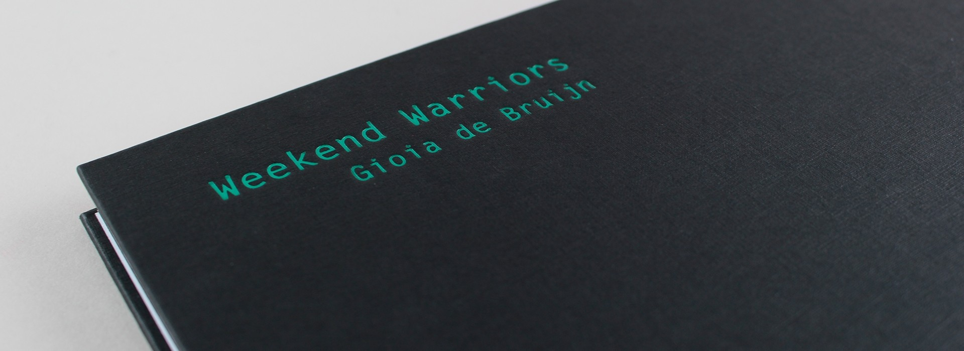 Gioia de Bruijn Weekend Warriors