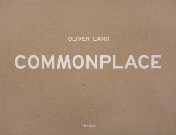 Oliver Lang Commonplace