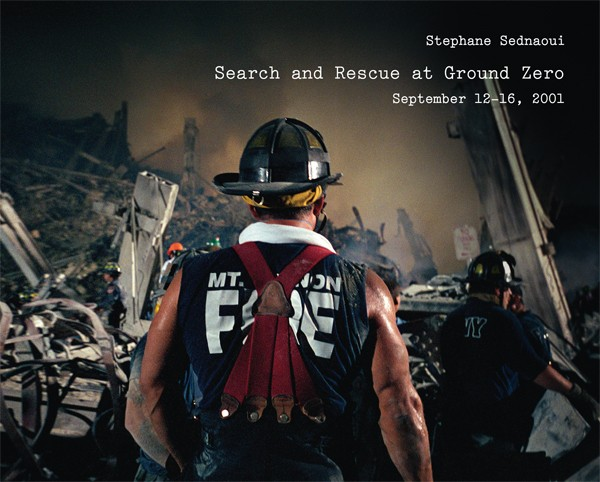 Stéphane Sednaoui SIGNED COPY: Search and Rescue at Ground Zero