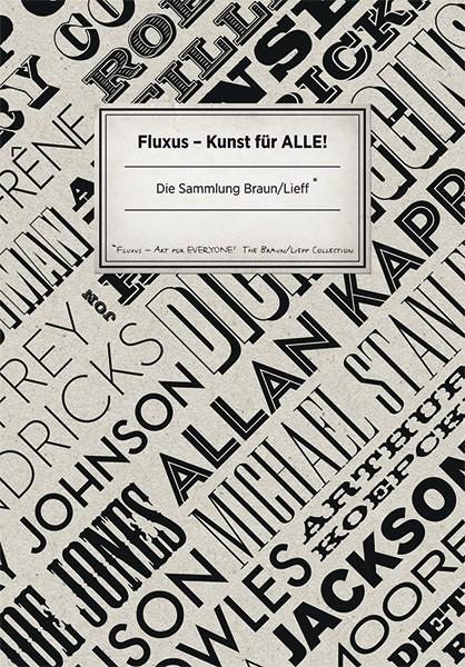 Museum Ostwall Fluxus – Kunst für alle! (Band 2) Sammlung Braun/Lief