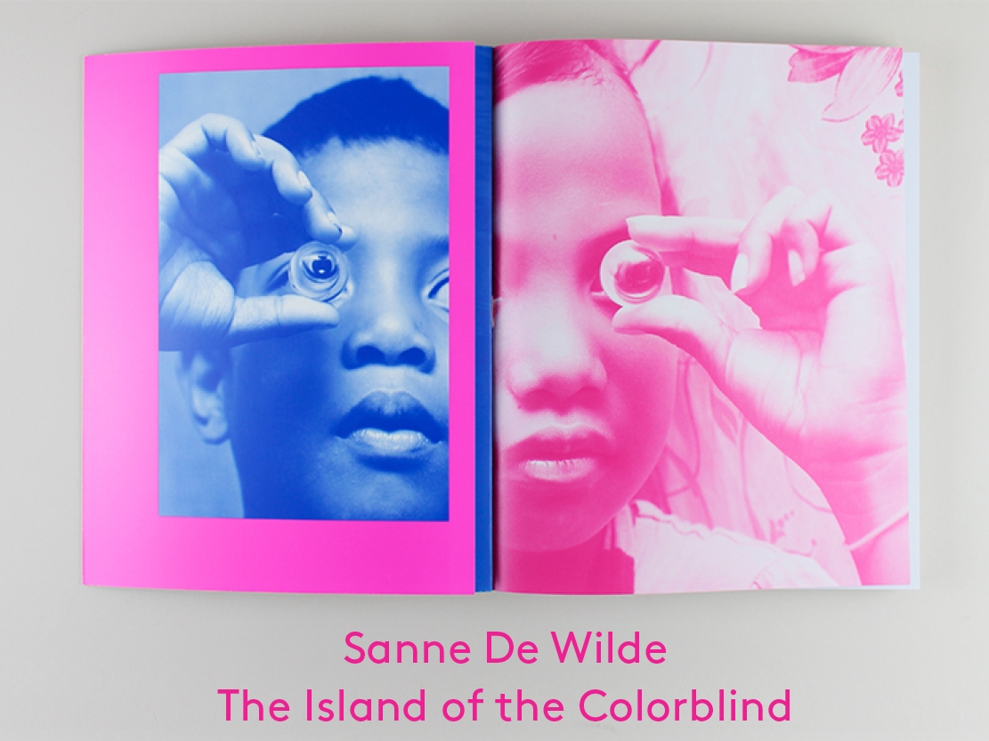 Sanne De Wilde - The Island of the Colorblind